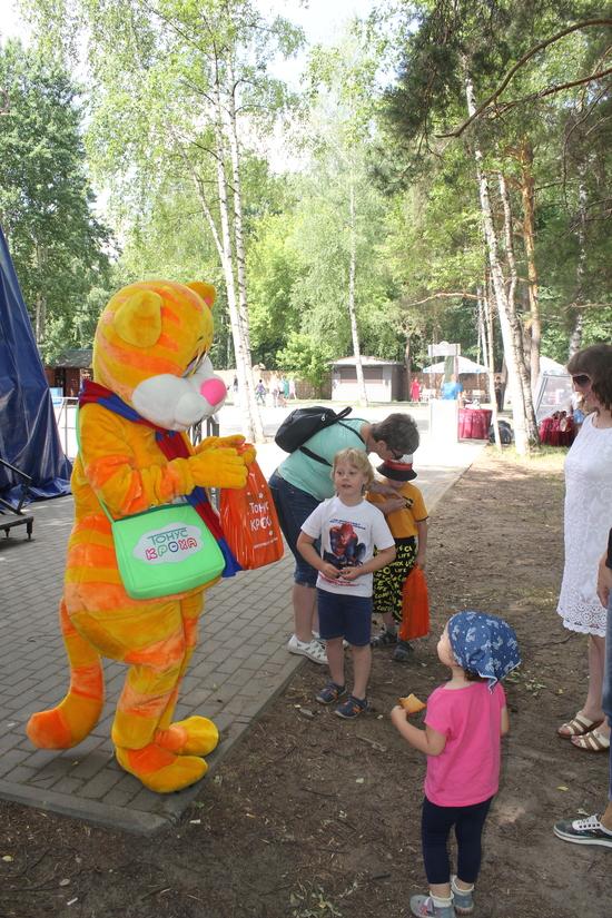 День России в Сормовском парке вместе с сетью медицинских клиник «Тонус»
