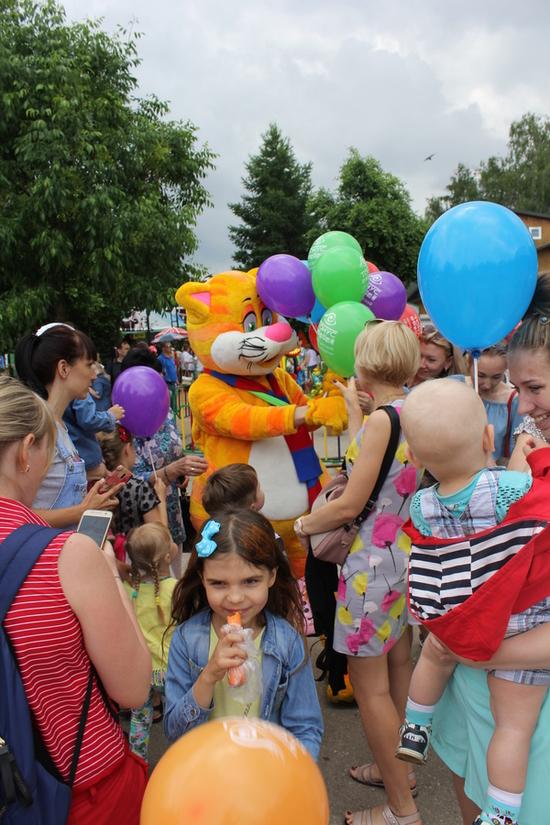 День защиты детей в зоопарке «Лимпопо» с центром медицинских клиник «Тонус» и КРОХОЙ-Котом