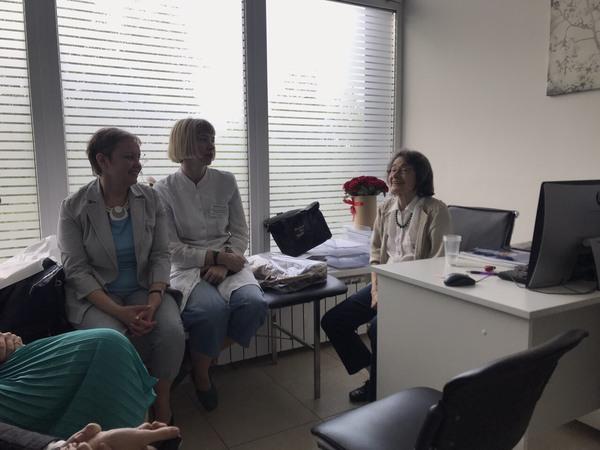 Детский психиатр, эпилептолог Шарлотта Драве провела прием в клинике неврологии и эпилептологии «ТОНУС ЛАЙФ»